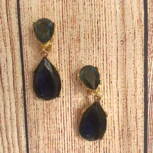 Kenneth Jay Lane Tear Drop Earrings